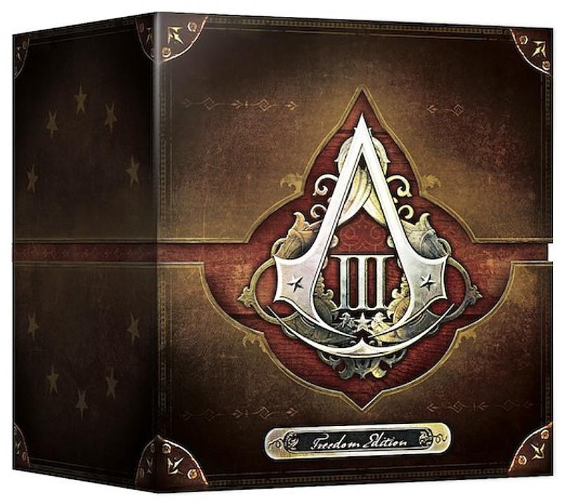 Assassins Creed III - Freedom Edition UK PS3 Bild