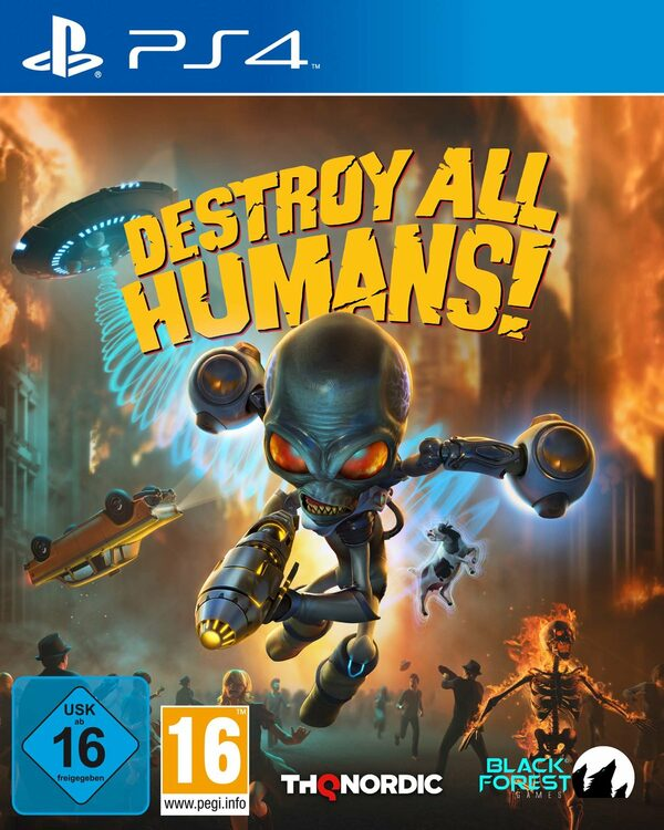 Destroy All Humans! Playstation 4 Bild