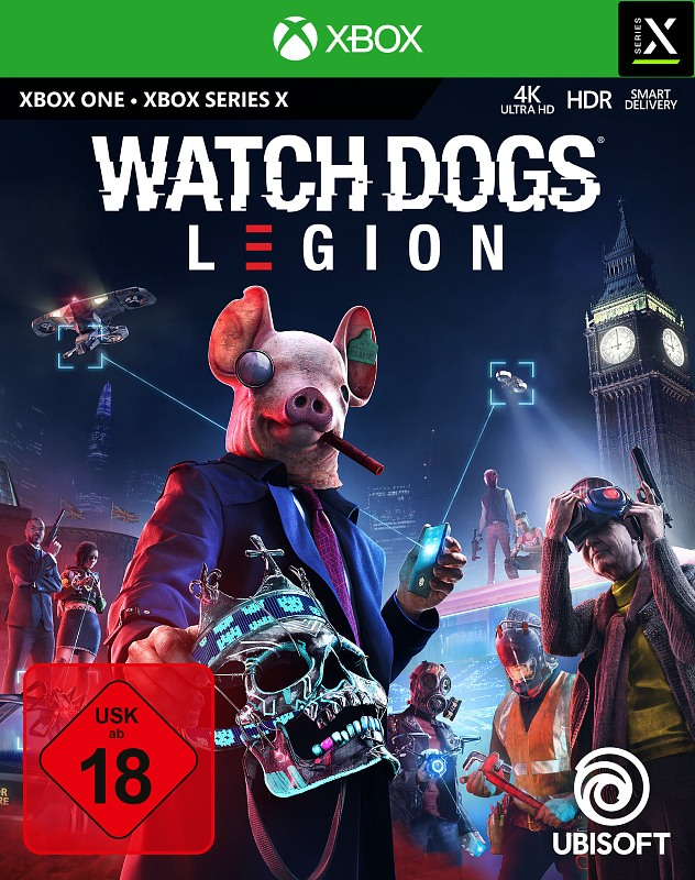 Watch Dogs Legion XBox One Bild