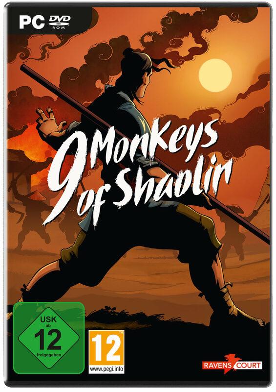 9 Monkeys of Shaolin PC Bild