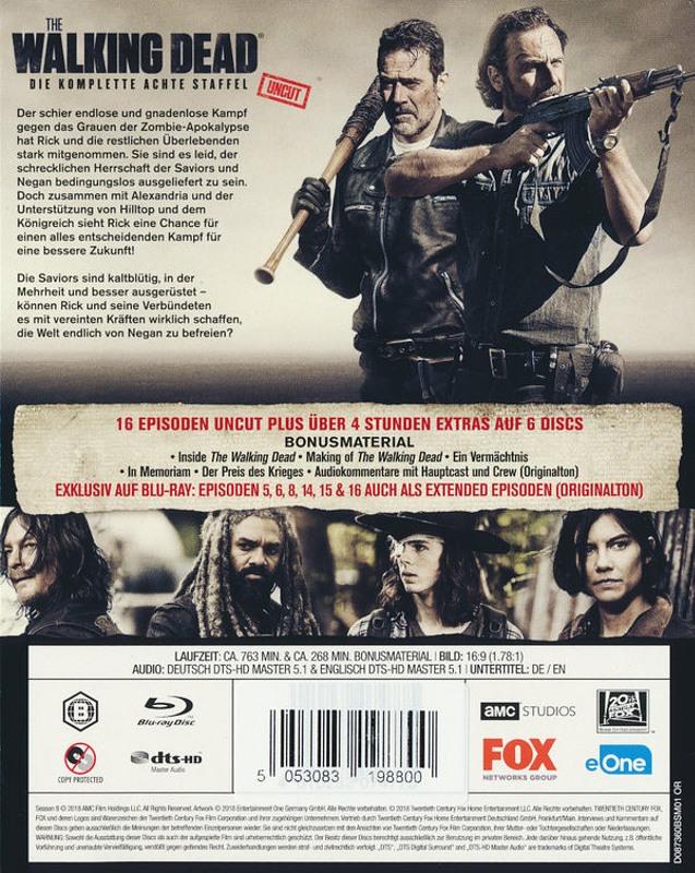The Walking Dead Staffel 8 Blu Ray