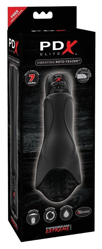 PDX Elite Vibrating Roto-Teazer Gay Toys Bild