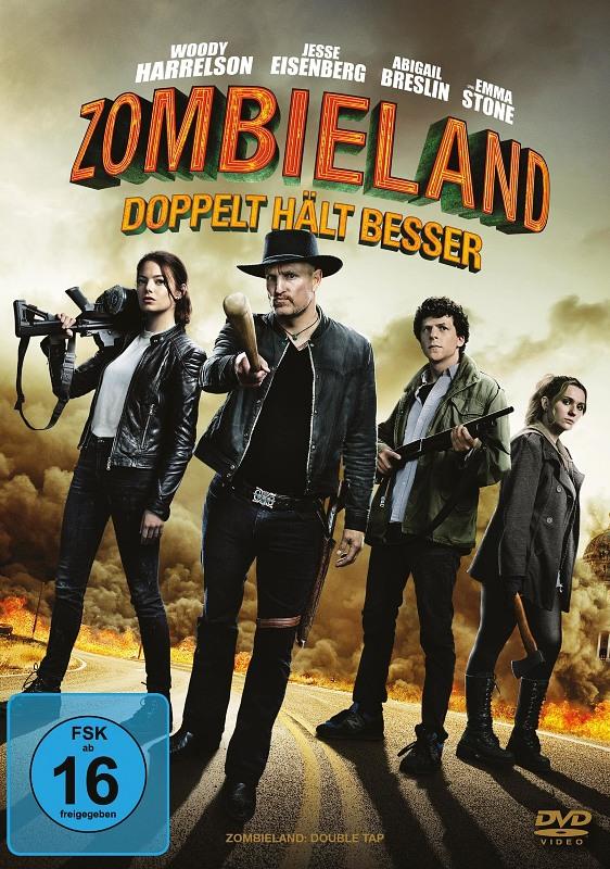 Zombieland: Doppelt hält besser DVD Bild