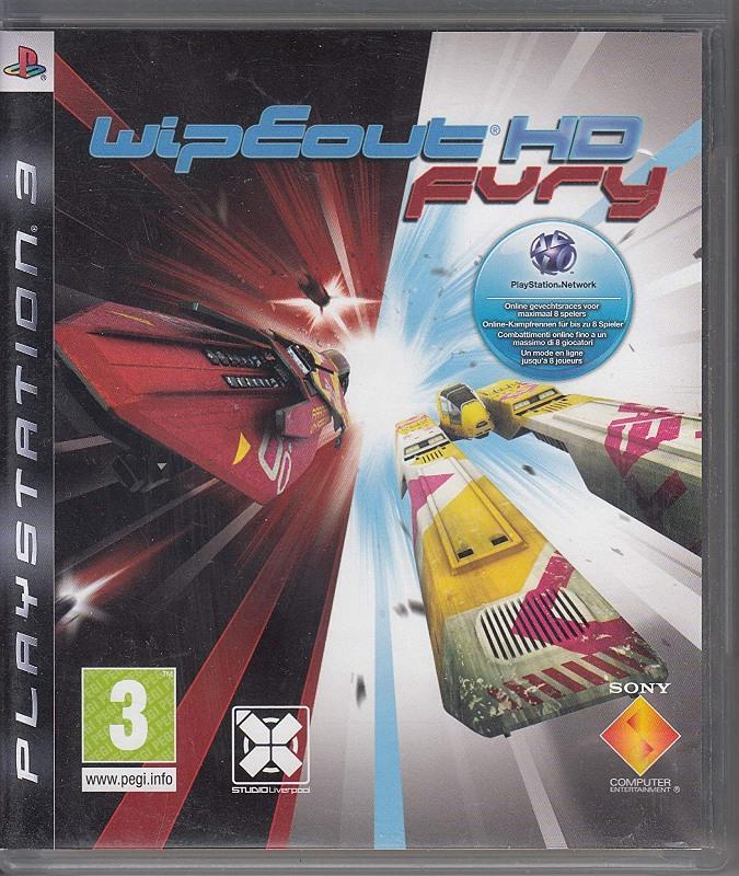 WipEout HD Fury PS3 Bild