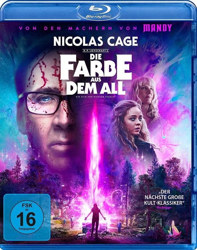 Die Farbe aus dem All - Color Out of Space Blu-ray Bild