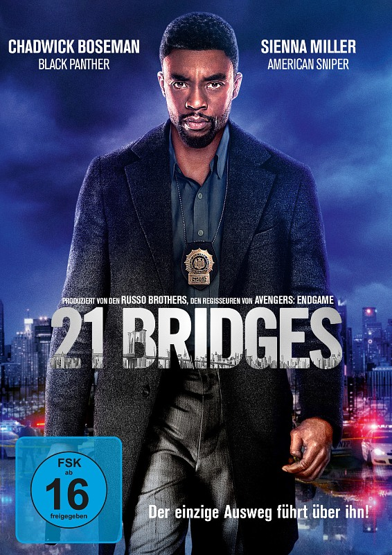 21 Bridges DVD Bild