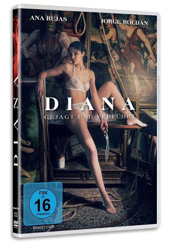 Diana - gejagt und verführt DVD Bild