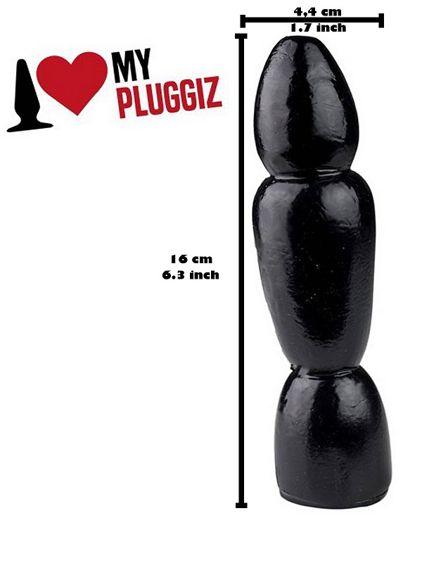Fuzz Plug 16 x 4,4 cm Gay Toys Bild