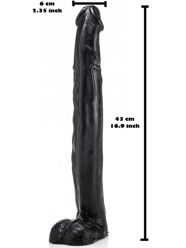 Chris Noir Dildo, 43 x 6cm Gay Toys Bild