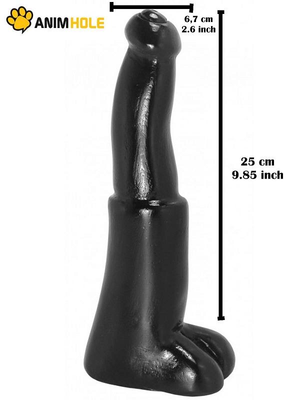 Bull Dildo  25 x 6,7 cm Gay Toys Bild