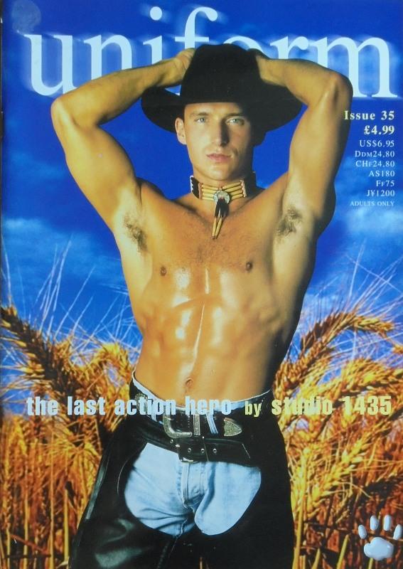 Uniform Issue 35 Gay Buch / Magazin Bild