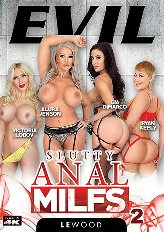 Slutty Anal MILFs 2 DVD Bild