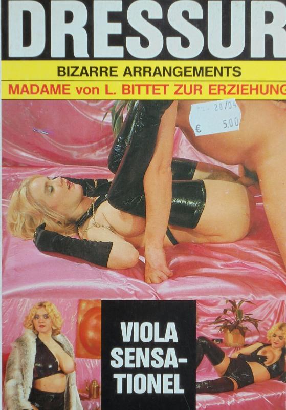 Dressur Bizarre Arrangements - Madame von L. bittet zur Erziehung Buch Bild