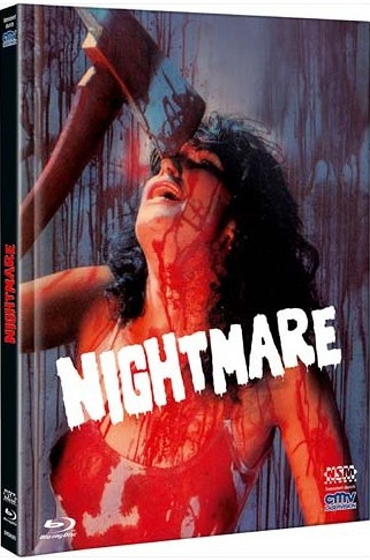 Nightmare (In a Damaged Brain) - Limited Mediabook Edition - Cover D [Blu-ray+DVD] Blu-ray Bild