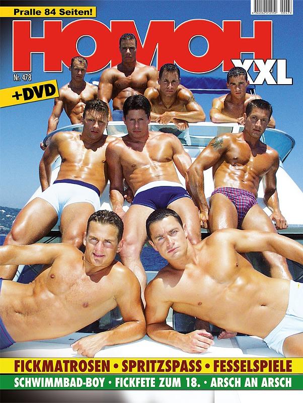 Homoh 478 Gay Buch / Magazin Bild