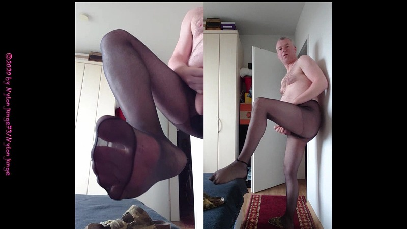 Mega Sexy Geil in Feinstrumpfhose Gay Download Bild