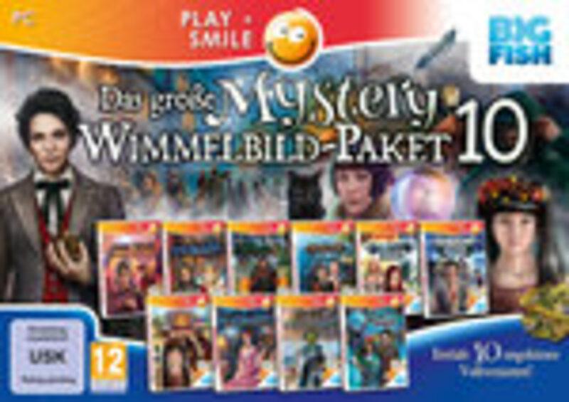 Das große Mystery-Wimmelbild-Paket 10 PC Bild