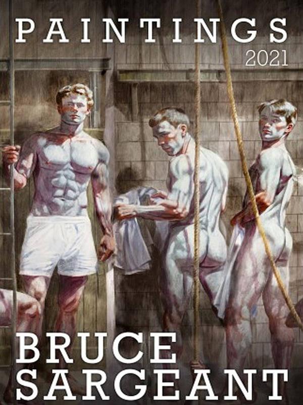 Wandkalender - Bruce Sargeant Paintings 2021 Gay Buch / Magazin Bild