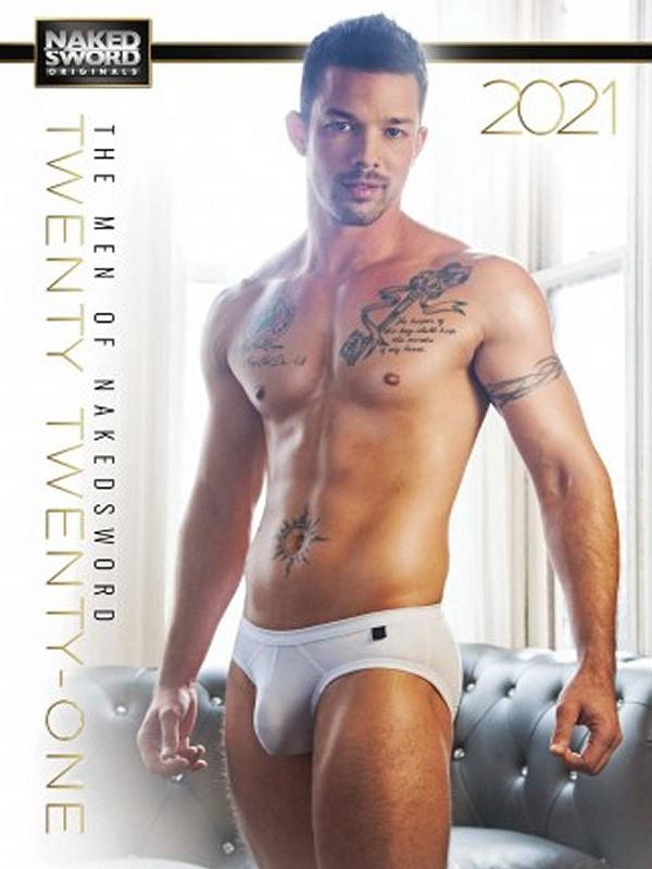 The Men of Naked Sword 2021 - Wandkalender Gay Buch / Magazin Bild