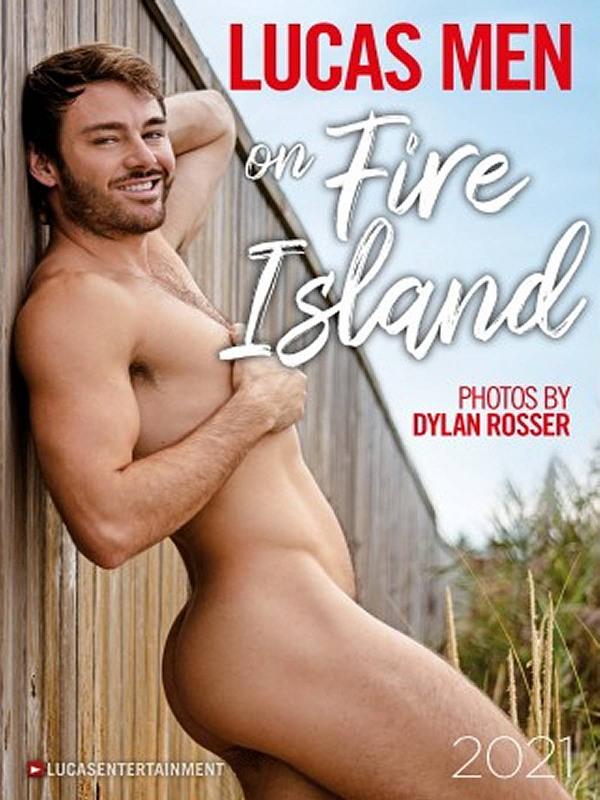 Lucas Men of Fire Island 2021 - Wandkalender Gay Buch / Magazin Bild