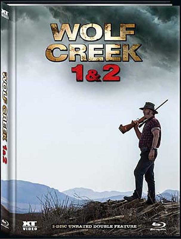 Wolf Creek - 1&2 Limited Mediabook Edition - Blu-ray Blu-ray Bild