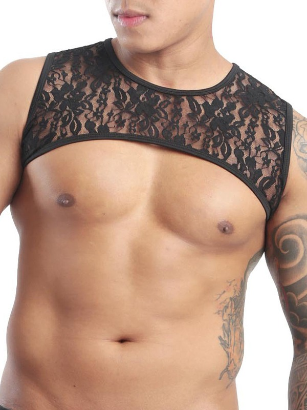 GBGB Leonardo Harness - Lace Flower, Gr.: M Gay Kleidung Bild