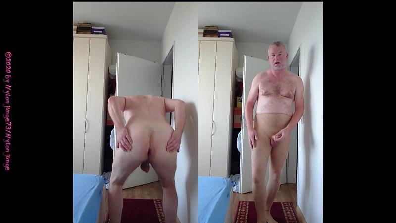 Nackt und Strumpfhose ** ICH ** Gay Download Bild