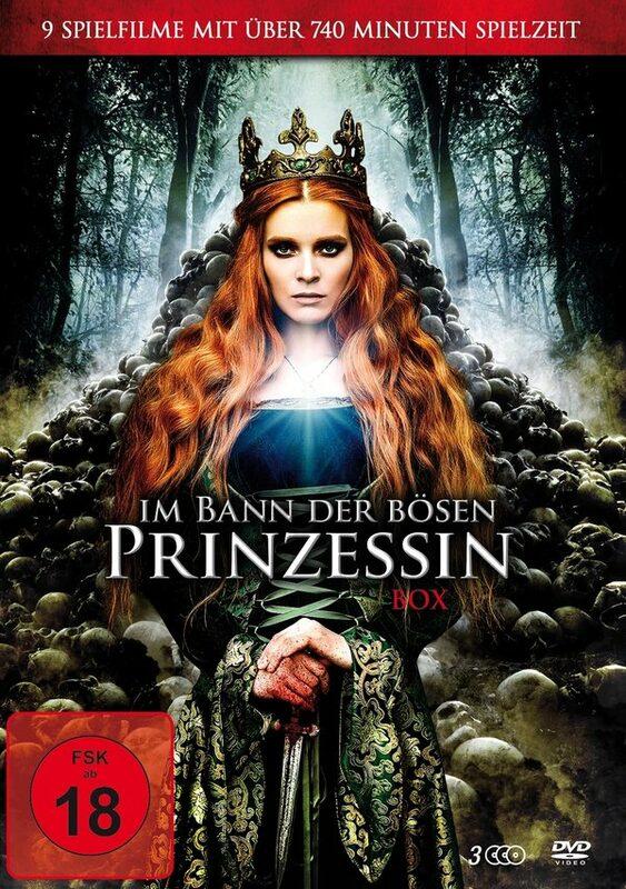 Im Bann der bösen Prinzessin - Box DVD Bild