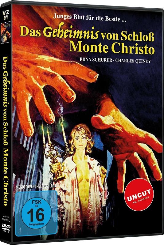 Das Geheimnis von Schloß Monte Christo DVD Bild