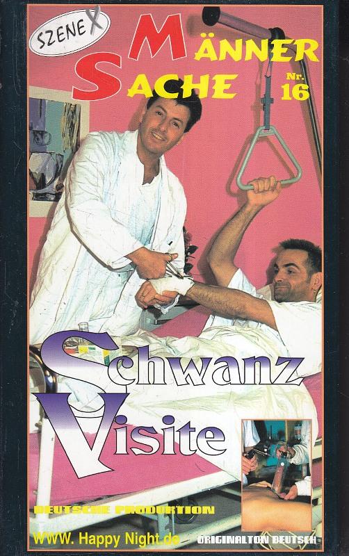 Männersache 16 Gay VHS-Video Bild
