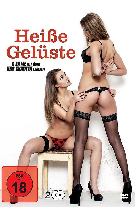 Heiße Gelüste - Erotik Box - 6 Erotik Sex Klassiker (2DVDs) DVD Bild