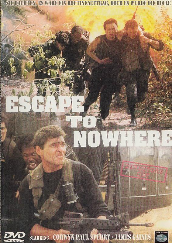 Escape to Nowhere (Inkl. Bonusfilm The Sore Losers) DVD Bild