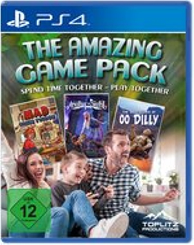 The Amazing Game Pack Playstation 4 Bild