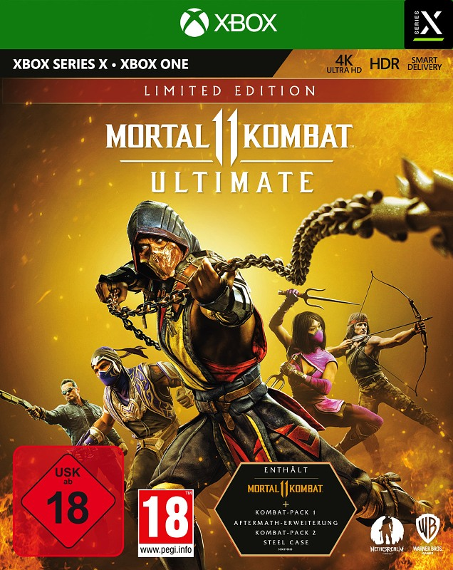 Mortal Kombat 11 Ultimate (Limited Edition) XBox One Bild