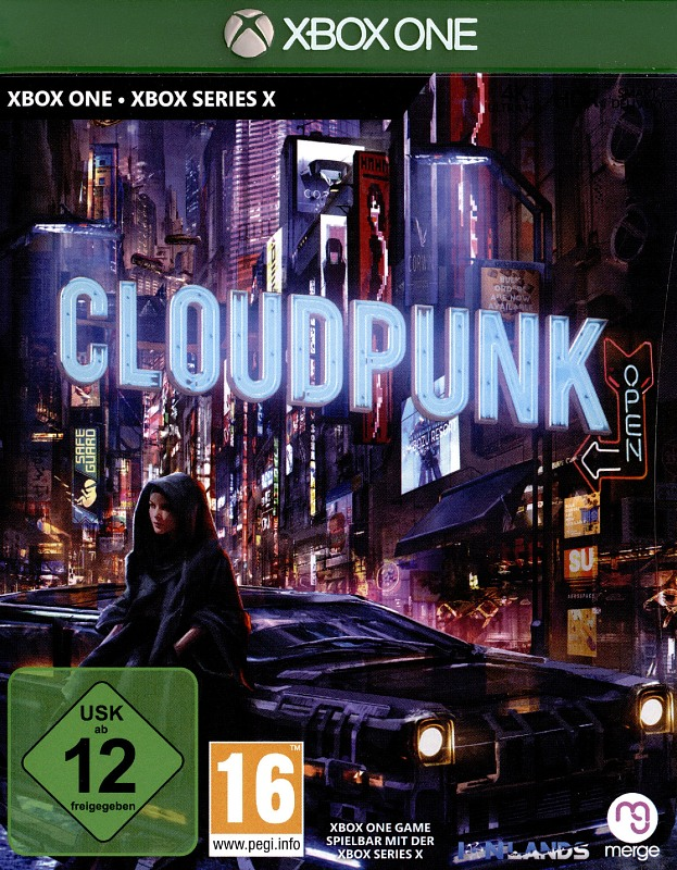 Cloudpunk XBox One Bild