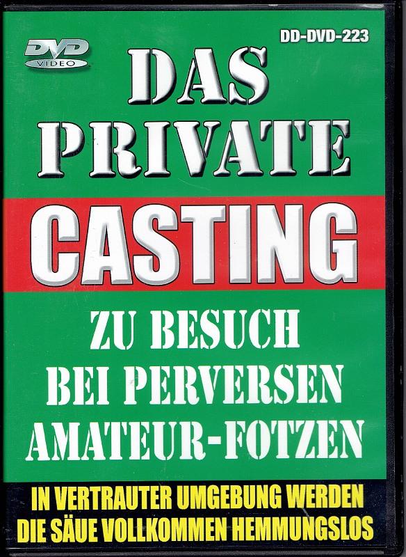 Das Private Casting  Zu Besuch bei perversen Amateur-Fotzen DVD Bild