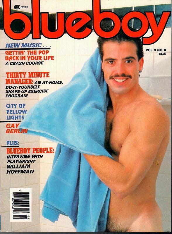 Blueboy Vol. 09 No. 08/1985 Gay Buch / Magazin Bild