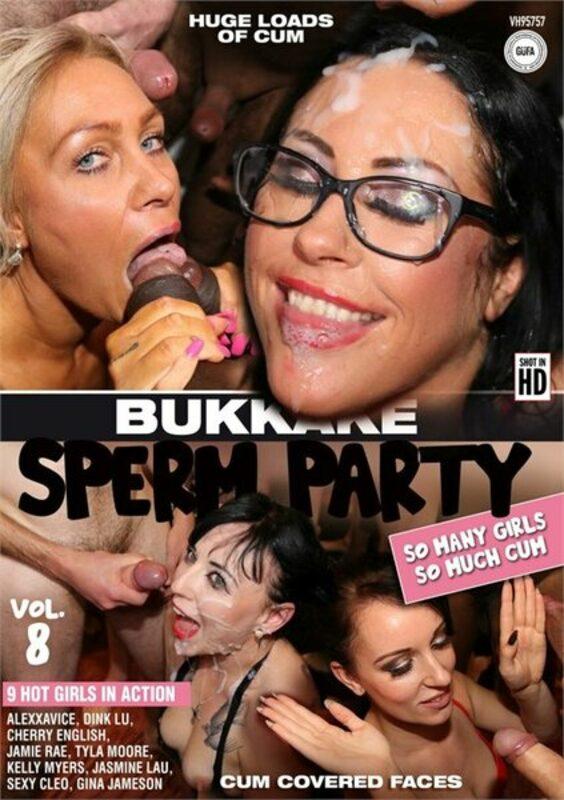 Bukkake Sperm Party  8 DVD Bild