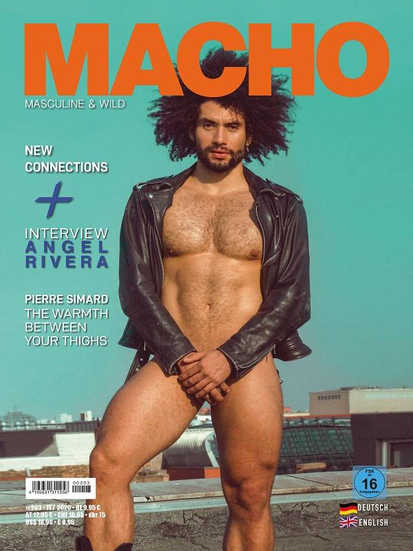 Macho #203 Gay Buch / Magazin Bild