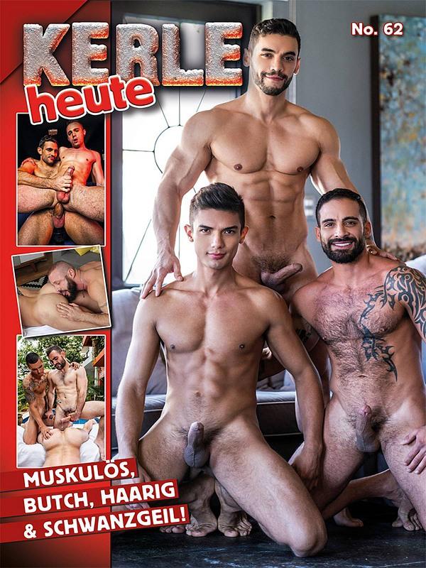 Kerle heute 62 Gay Buch / Magazin Bild