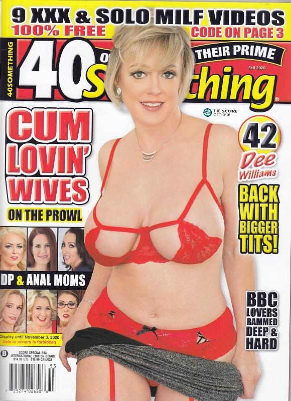 40something Fall 2020 + DVD Glazed Cougars 2 Magazin Bild