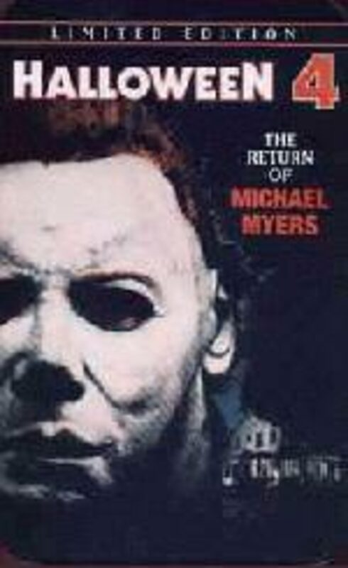 Halloween 4 - The Return of Michael Myers - Limited Edition Tin RC1 DVD Bild