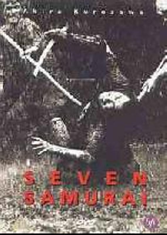 Seven Samurai UK DVD Bild