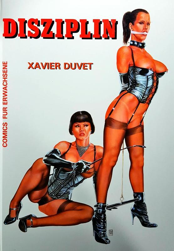 Xavier Duvet  Disziplin Comic Bild