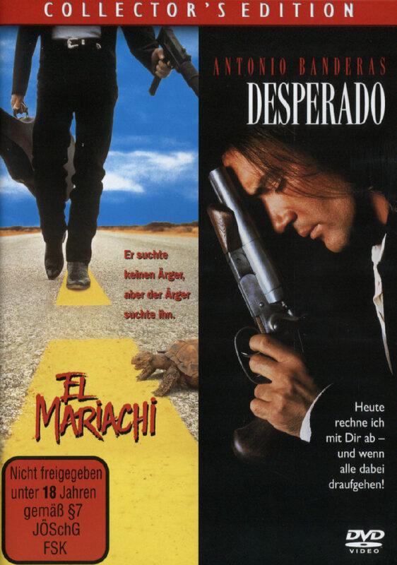 Desperado/El Mariachi DVD Bild