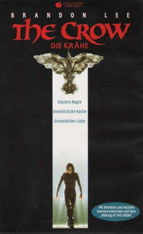 The Crow - Die Krähe VHS-Video Bild
